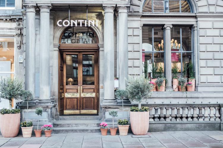 Contini George Street Centotre Edinburgh Italian Restaurant