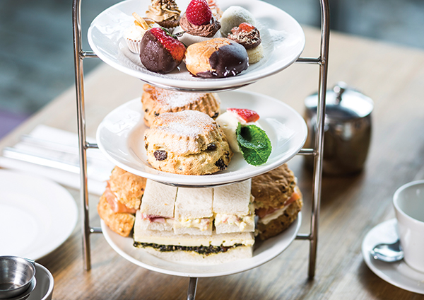 Sharing Afternoon Tea for Two