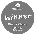 Open Table Winner 2015