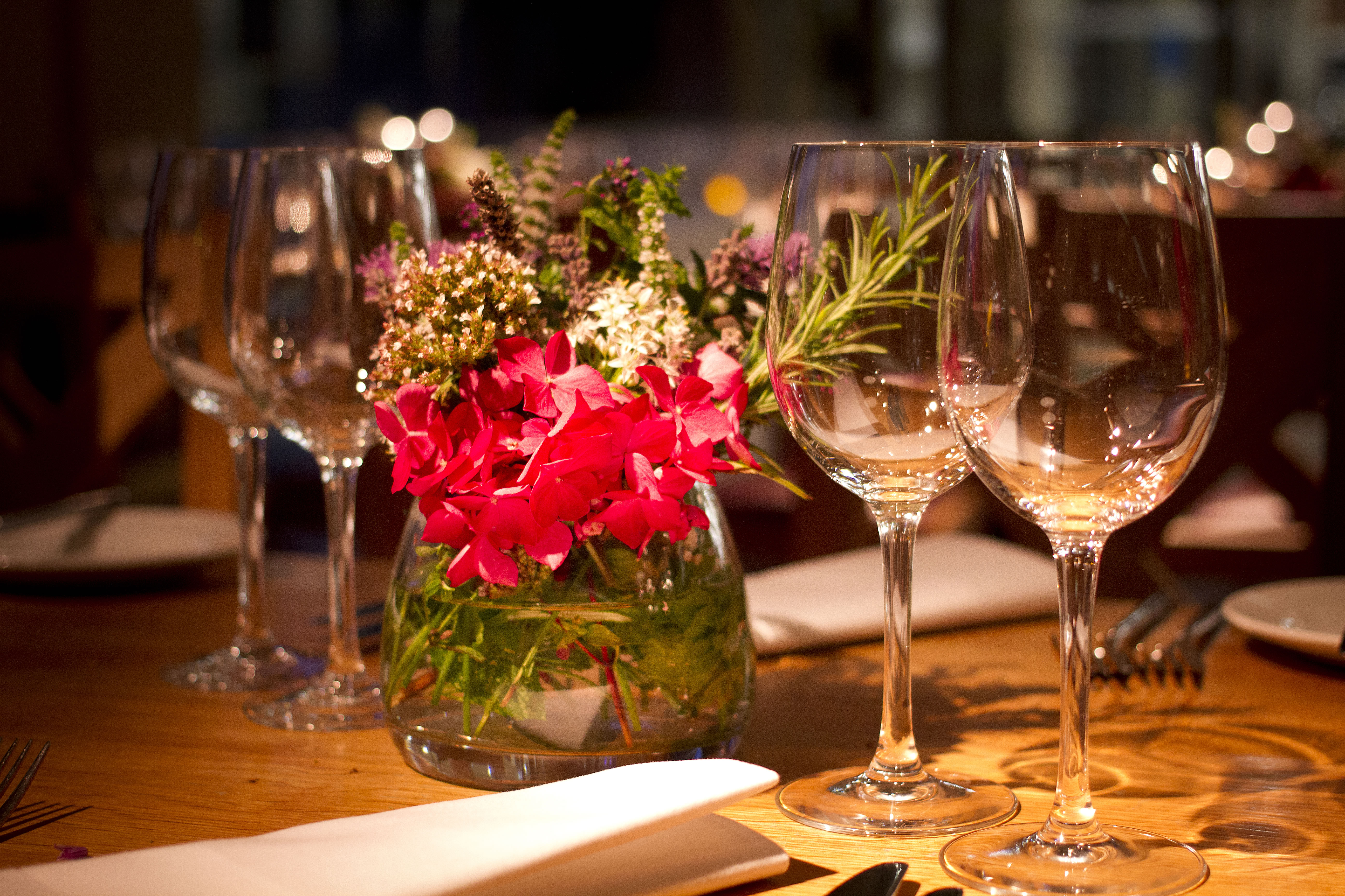 restaurant events