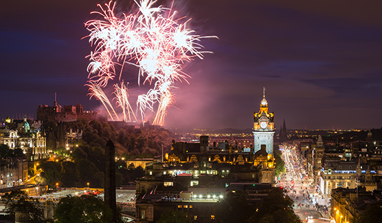 Hogmanay at Cannonball Fireworks