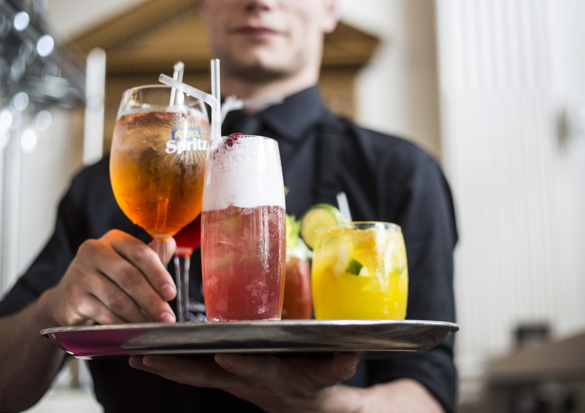 Victor Carina Contini Cannonball Restaurant Bar