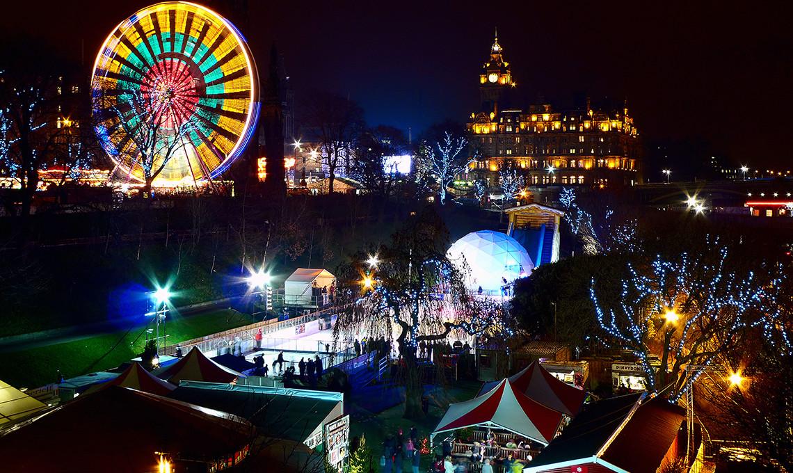 Contini Events Hogmanay Christmas Edinburgh