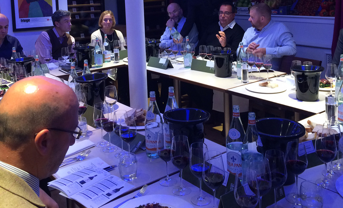 Liberty Wines new season olive oil tasting Contini Ristorante