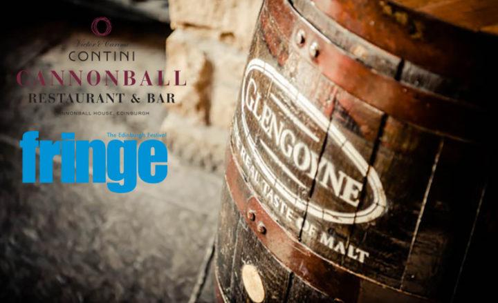 Cannonball Glengoyne Whisky Supper Contini Edinburgh Fringe