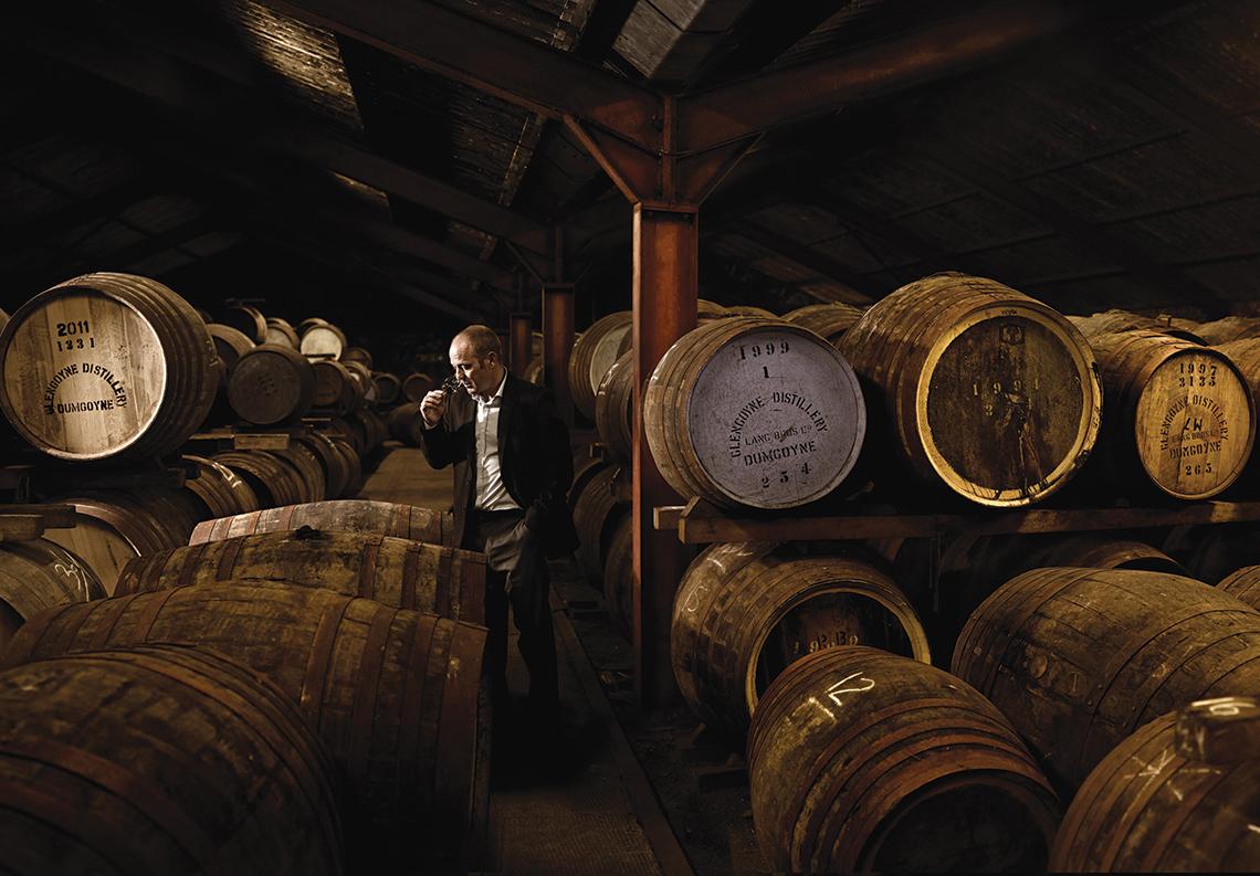 Glengoyne Whisky Tasting Contini Edinburgh Royal Mile