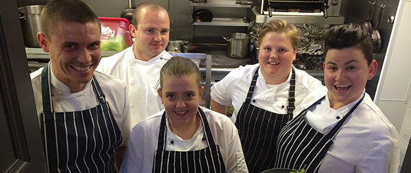 The art of foraging chefs contini edinburgh