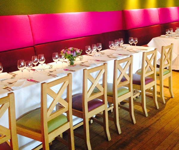 The Scottish cafe & Restaurant Contini Events Edinburgh