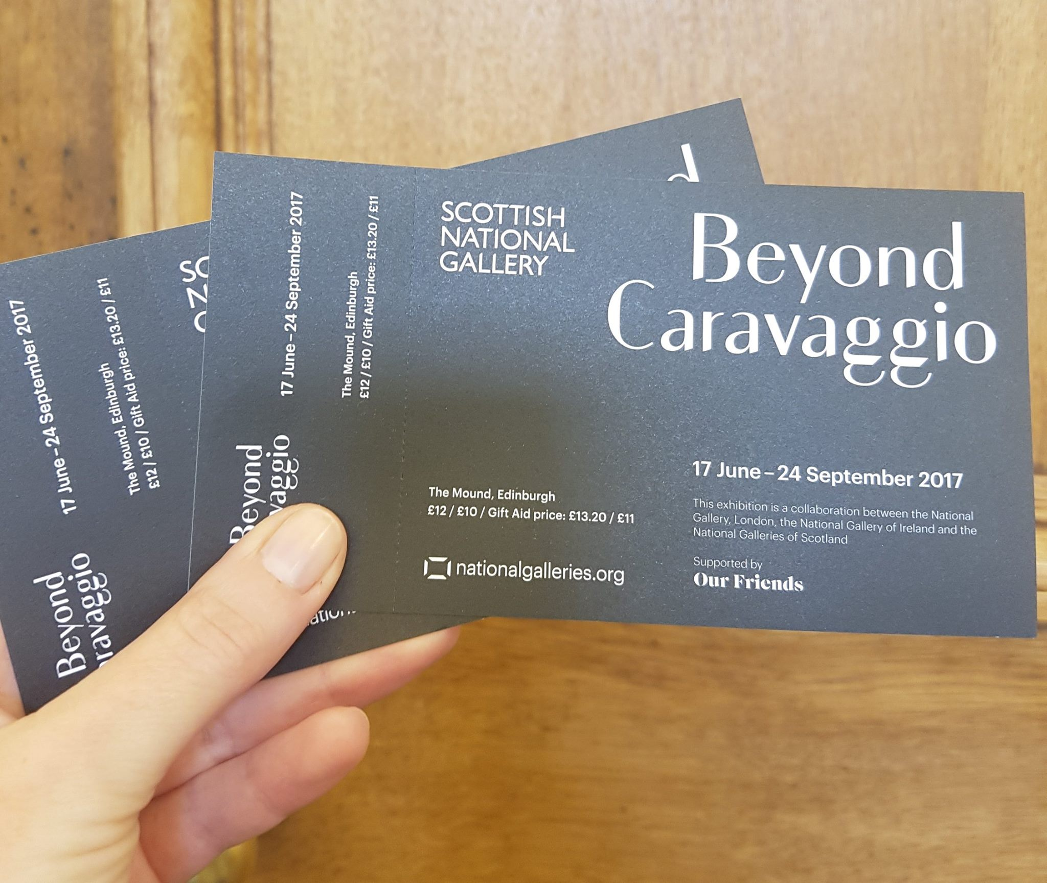 win tickets to the final weekend of caravaggio contini edinburgh
