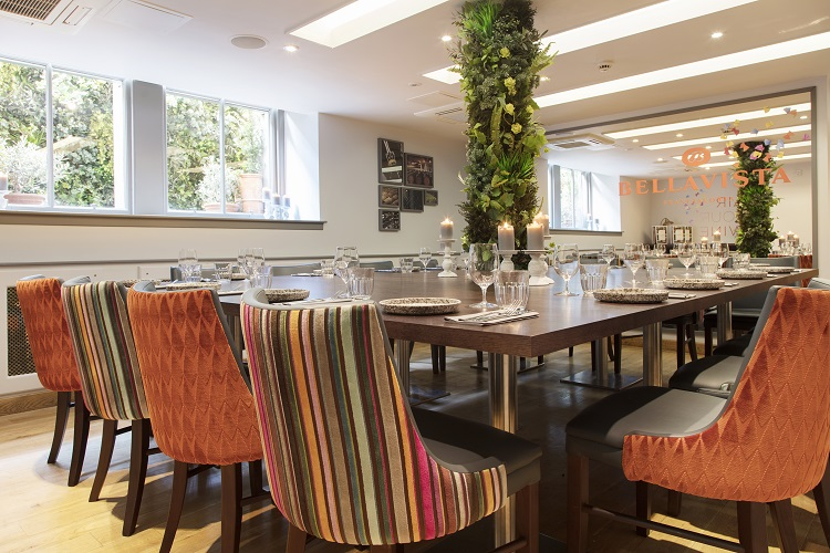 Private dining at contini george street contini edinburgh for Best private dining rooms edinburgh