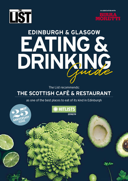 Contini Awards - The List Eating & Drinking Guide 2018/19