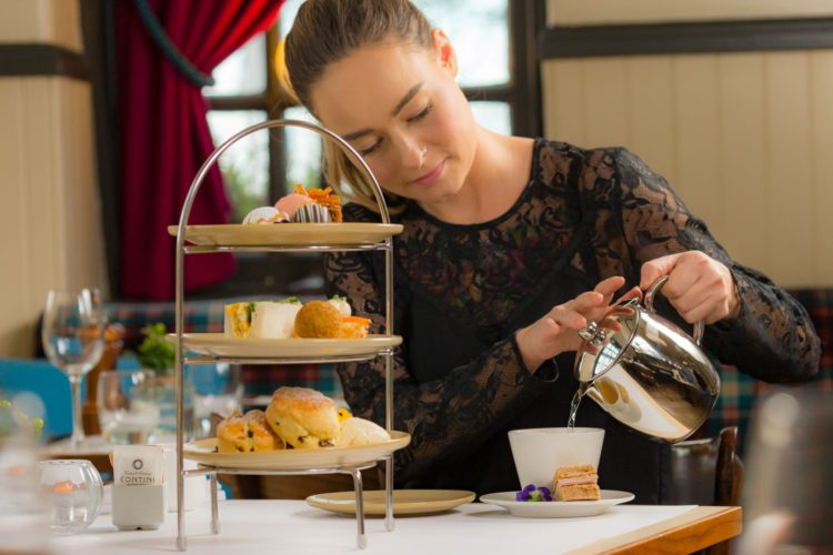 AFTERNOON TEA - SERVED 12NOON TO 4PM <br /> The perfect afternoon treat