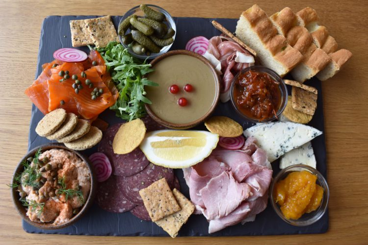 Sharing Platters for 2