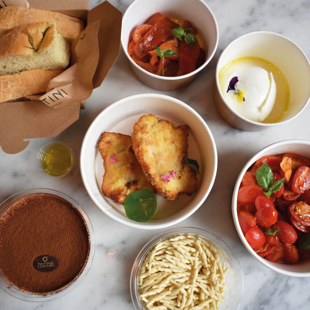 Premium quality Italian dishes ready to heat up at home
