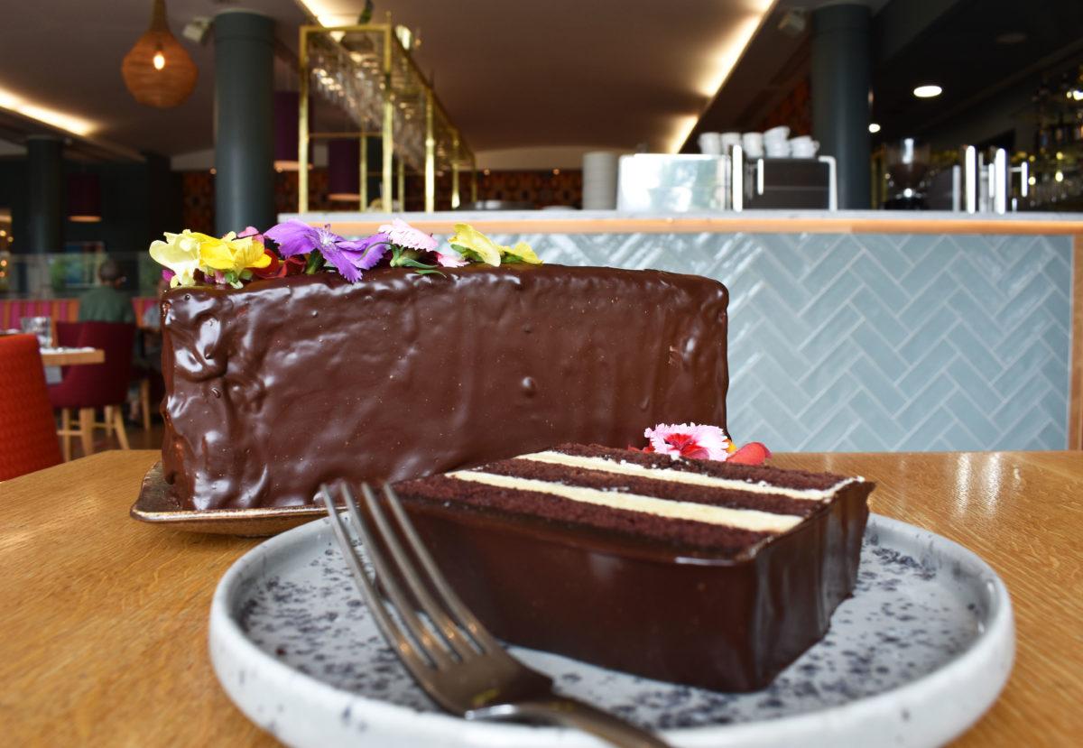 THE SCOTTISH CAFE SLAB CAKE  <br />