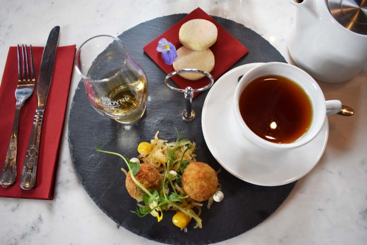 Whisky or Gin Afternoon Tea - Served noon til late Wednesday to Sunday